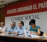 Cumbre Social, 25 de julio de 2012