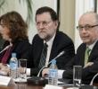 Soraya, Rajoy y Montoro