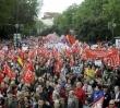 Manifestación y concentración en Madrid de la Cumbre Social