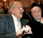 Santiago Carrillo y Manuel Fraga