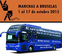 Euromaarchas Autobus  Octubre 2015